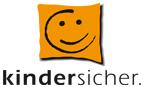 Das Logo von kindersicher. Durch klicken gelangen Sie zur Startseite.